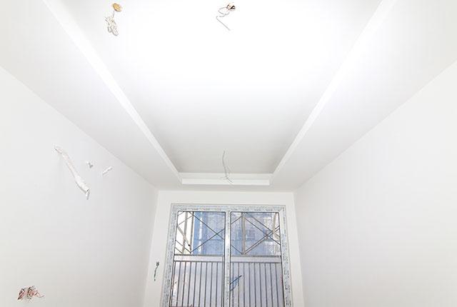 Thi công khung trần thạch cao tầng 16 block C