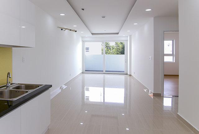 Một số căn hộ đã hoàn thiện và sẵn sàng cho kế hoạch bàn giao