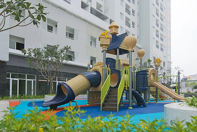 Hình ảnh công viên nội khu dự án
