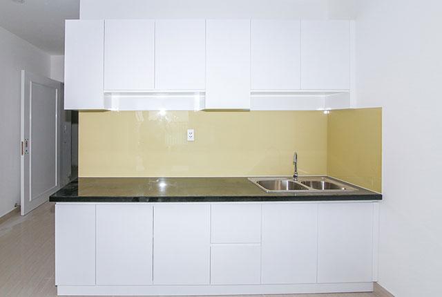 Lắp đặt tủ bếp căn hộ tầng 9 block C