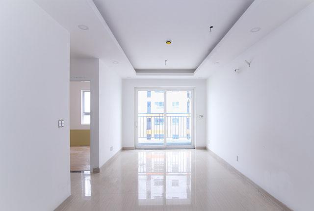 Sơn nước hoàn thiện căn hộ tầng 6 - 14 block C