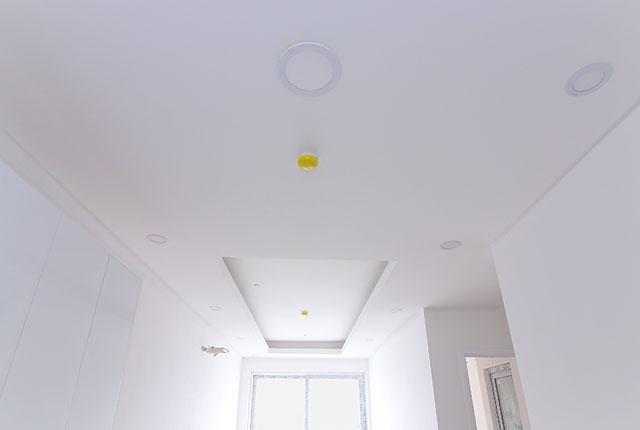Hoàn thành lắp đặt hệ thống báo cháy bên trong căn hộ block A, B