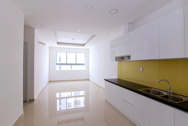 Sơn nước hoàn thiện căn hộ tầng 6 - 15 block C