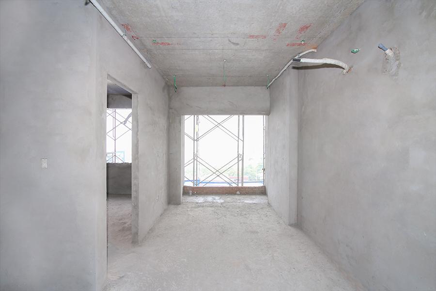 Tô tường căn hộ tầng 6 Block A