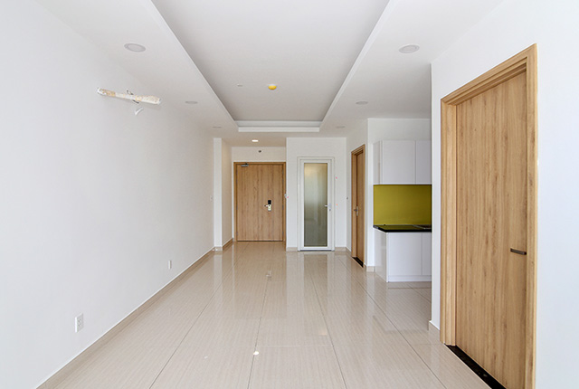 Sơn nước hoàn thiện căn hộ tầng 20 block B