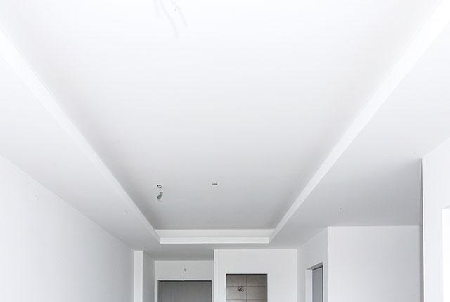Thi công khung trần thạch cao tầng 8 block A