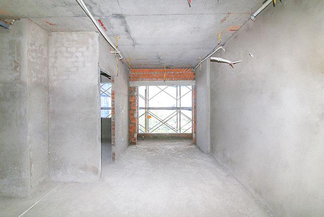 Tô tường căn hộ tầng 15 block A