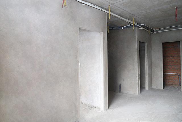 Tô tường căn hộ tầng 16 block B
