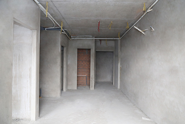 Tô tường căn hộ tầng 19 block A