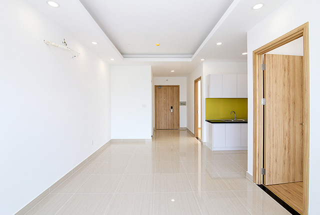 Hình ảnh căn hộ đã hoàn thiện và sẵn sàng cho kế hoạch bàn giao