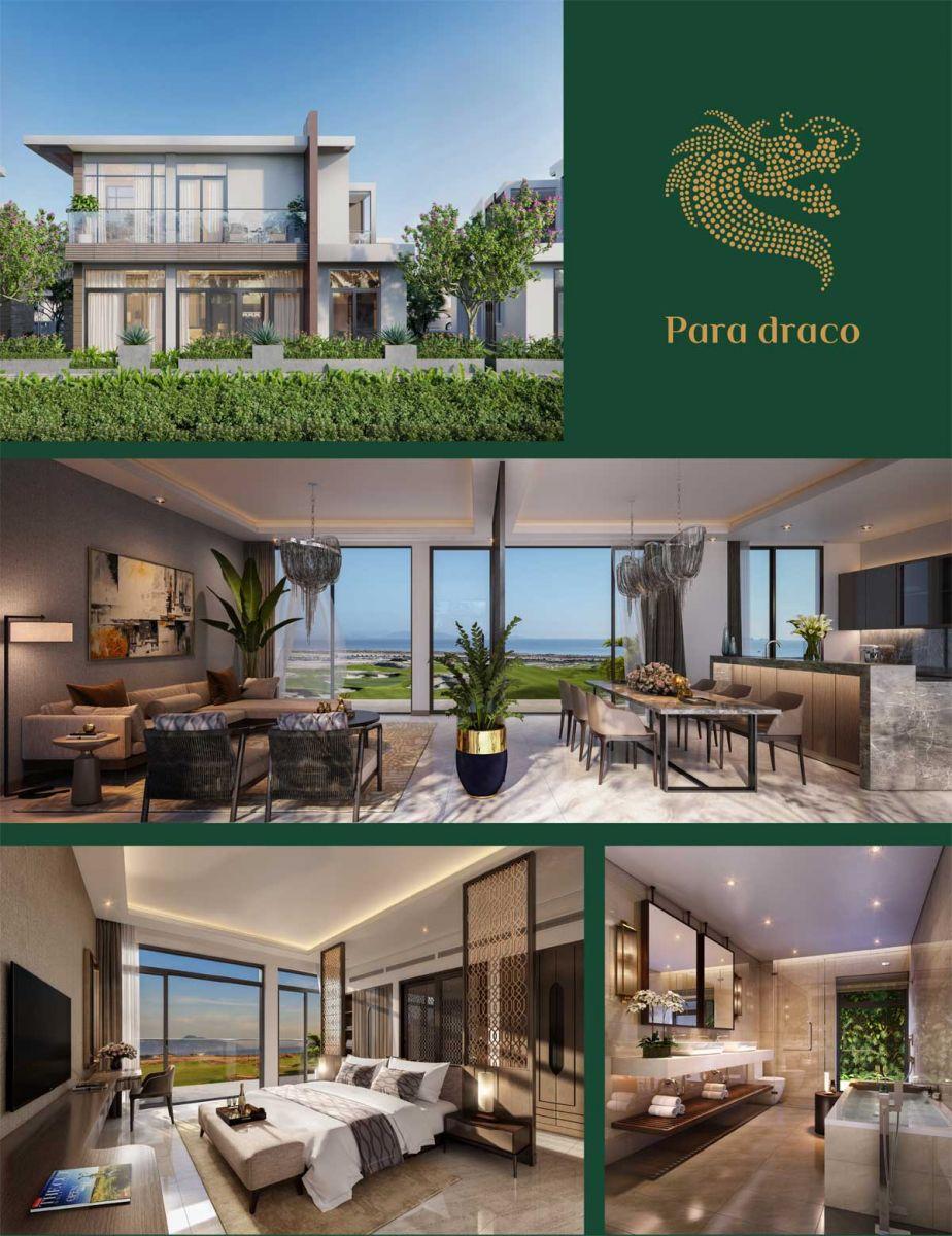 Thiết kế Biệt thự Para Draco Cam Ranh