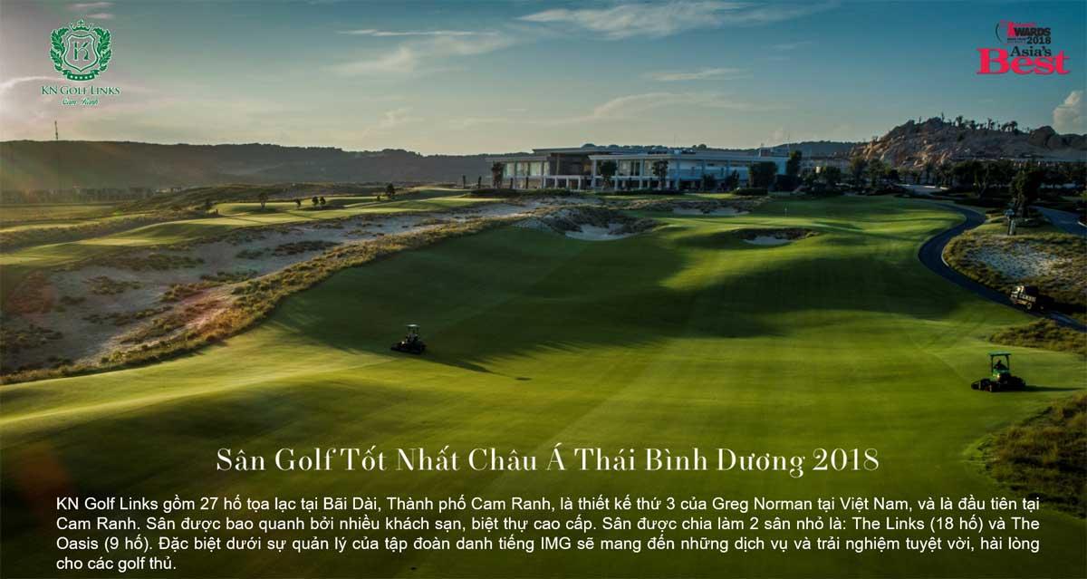 KN Golf Links sân Golf lớn nhất Châu Á Thái Bình Dương