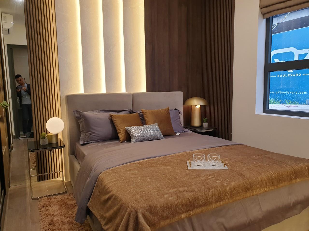 Mẫu Phòng Ngủ Q7 Boulevard