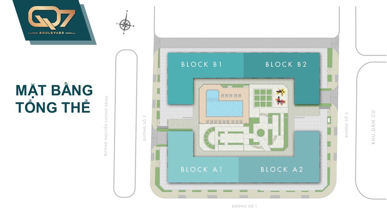 mặt bằng tổng thể căn hộ q7 boulevard