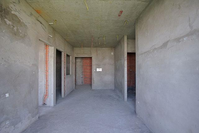 Thi công tô tường căn hộ tầng 20 - 22 block A1