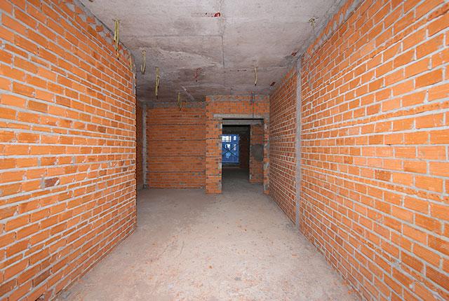 Xây tường bao căn hộ tầng 5 - 11 block B2