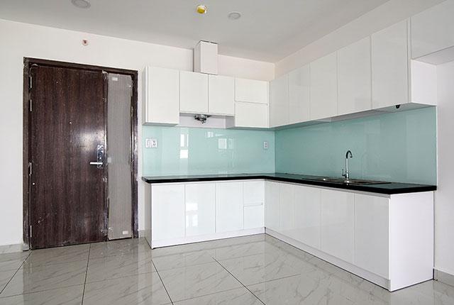 Hoàn thành lắp đặt tủ bếp tầng 24 block Glory