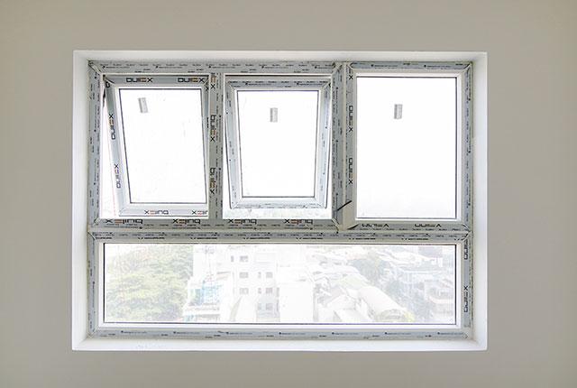 Lắp đặt cửa sổ căn hộ từ tầng 6 đến tầng 24 block Lucky và block Riches