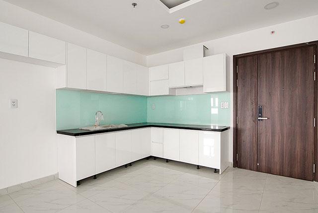 Lắp đặt tủ bếp đến tầng 24 block Glory