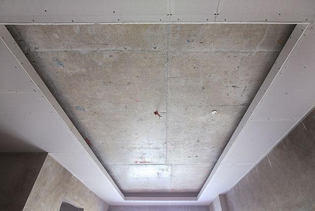 Đóng trần thạch cao từ tầng 5 đến tầng 18 block Glory