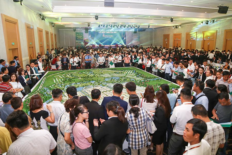 Sự kiện giới thiệu dự án đất nền Biên Hòa New City thu hút nhiều khách hàng tham dự
