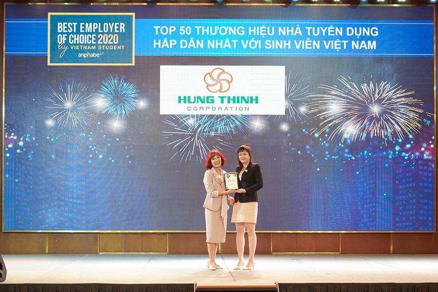 Bà Hà Triều - Phó Giám đốc Khối nguồn Nhân lực Tập đoàn Hưng Thịnh