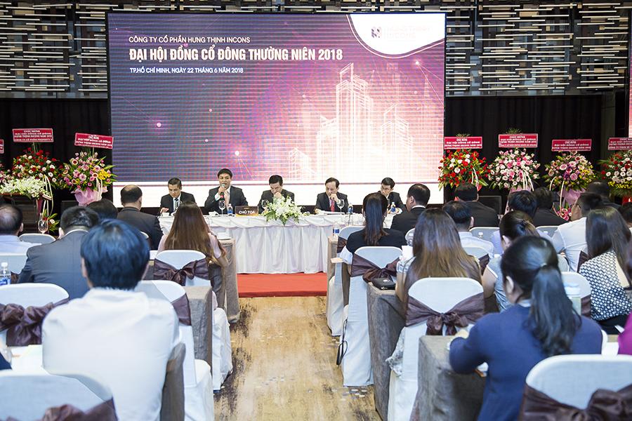 Toàn cảnh Đại hội đồng Cổ đông thường niên năm 2018 của Công ty Cổ phần Hưng Thịnh Incons (tt)